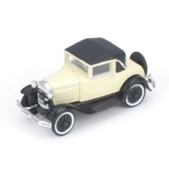 Ford Modell A Roadster creme Spur H0 Athearn 26383 Modellauto