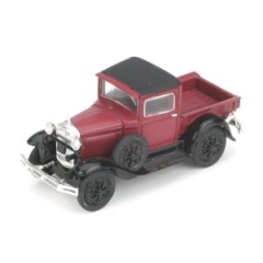 Ford Modell A Pickup burgunder Spur H0 Athearn 26421 Modellauto