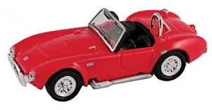 1965 Shelby Cobra Red 1/87