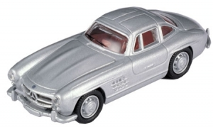 MB 300SL Gullwing Coupe- Silver 1/87