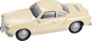 V W Karmann Ghia Coupe- Tan 1/87