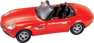 BMW Z8 Cabrio- Red 1/87