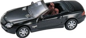 MB 500SL Cabrio- Black 1/87