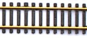Flexgleise / flexibles Gleis Spur H0 Code 100 schwarz Messing