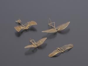 AEROBASE LS1 Lilienthal Glider Set 1 (1:160) Inhalt 4 Gleiter