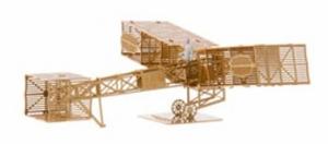 AERO BASE B004 Santos Dumont 14bis 1:160 brass / Messing