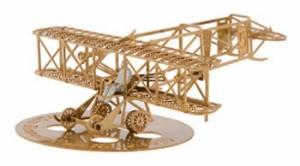 AERO BASE B010 Wright Baby Racer 1:160 brass / Messing