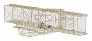 AERO BASE B101 Wright 1903 Flyer 1:160 Nickel-Silver / Neusilber