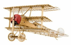 AERO BASE A001 1:48 Fokker Dr.1 brass / Messing