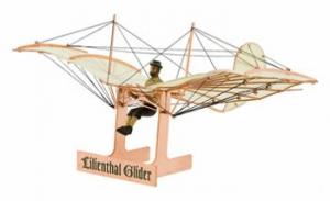 AEROBASE A005 1:48 Lilienthal Gleiter 1894 Kupfer Bausatz