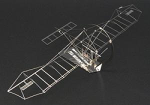 AEROBASE H001 - The Mojave 76 - Edelstahl 1:144 Bausatz Modell