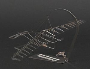The Condor 77 - Edelstahl 1:144 Aerobase H002 Bausatz Modell