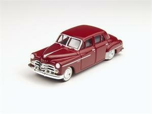 Dodge Meadowbrook 1950 rotbraun Spur H0 Modellauto CMW 30225