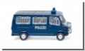 Polizei - Bus (MB 207 D) Wiking 086431 Spur H0 1:87 Modellauto
