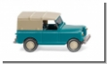Land Rover hell-türkis 1958 Wiking 010002 H0 1:87 Modellauto