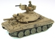 US Tank sand WW2 with soldier WTM 1/144