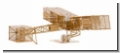 AERO BASE B004 Santos Dumont 14bis 1:160 brass / Messing